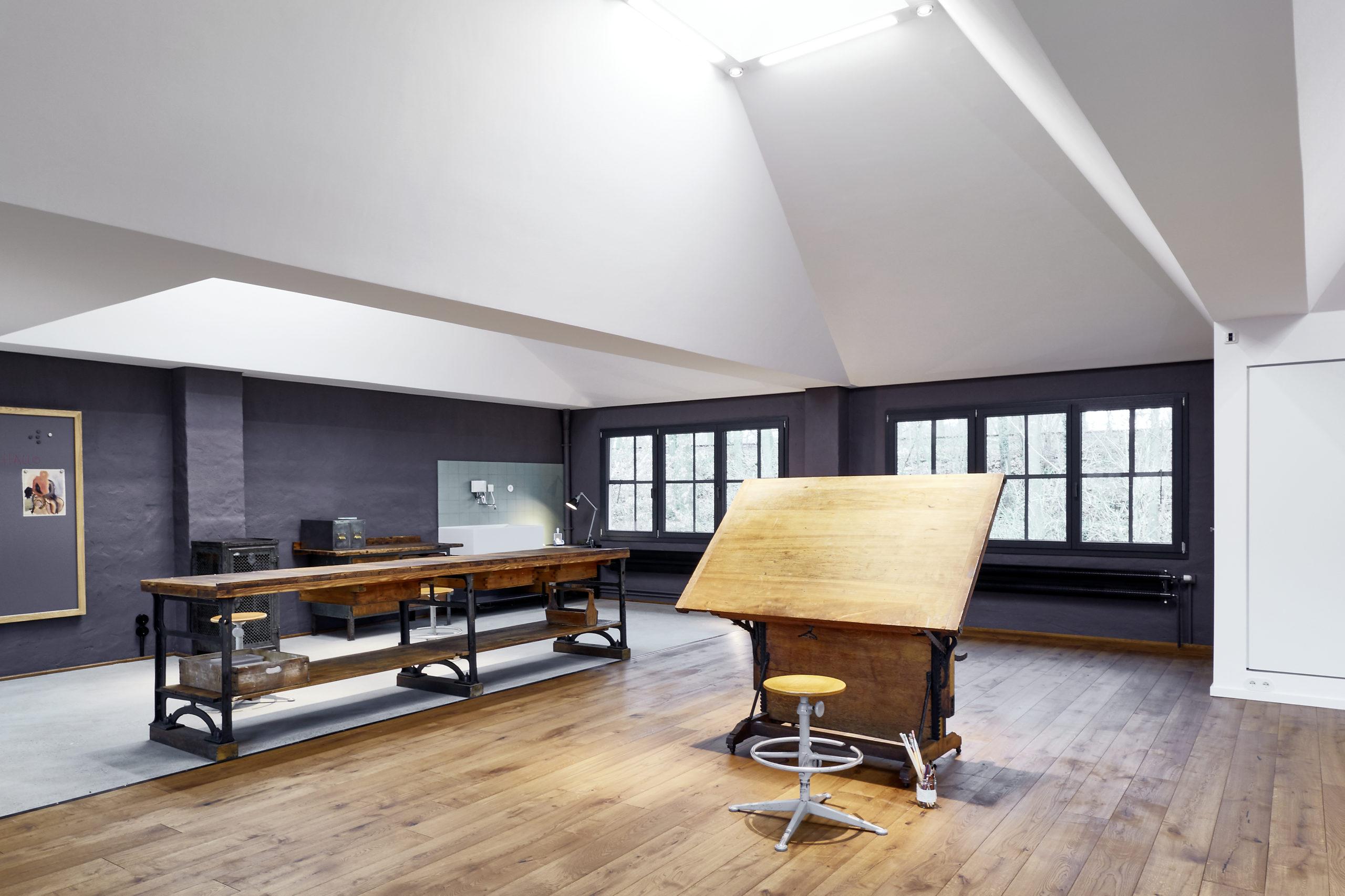 Atelier Pirolweg   Formwaende